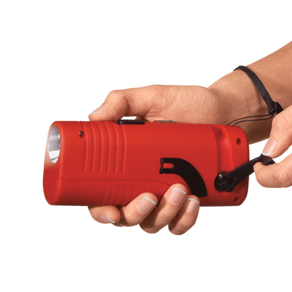 LivingSURE™ Deluxe Emergency Flashlight Radio