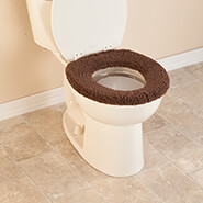 Bathroom Accessories - Sherpa Toilet Seat Cover by OakRidge™