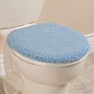 Bathroom Accessories - Sherpa Toilet Seat Lid  Cover by OakRidge Comforts™
