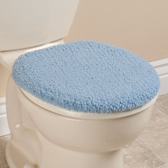 Sherpa Toilet Seat Lid  Cover by OakRidge™ Comforts - View 1