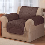 Home Comforts - Waterproof Quilted Sherpa Chair Protector by OakRidge™