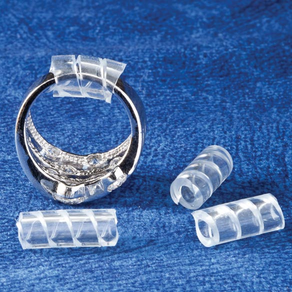 Spiral Ring Sizers - Set of 4