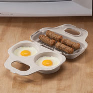 Microwave Cooking - Microwave 2-Egg Poacher