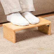 Home Comforts - Folding Footrest by OakRidge™