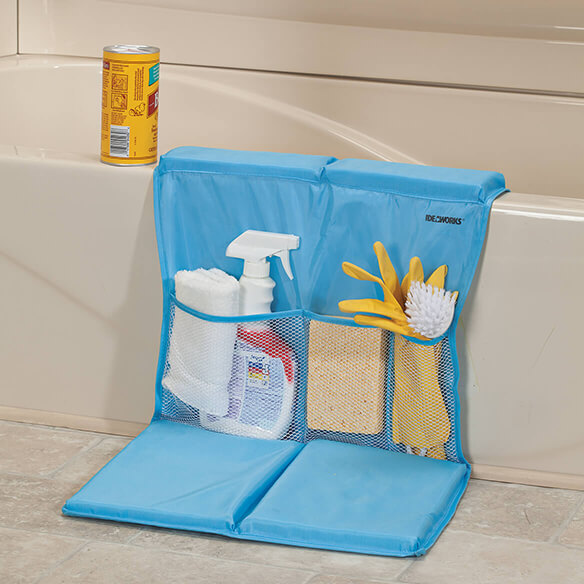 Bathtub Caddy with Kneeling Pad - View 1