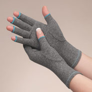 Arthritis Relief & Aids - Colored Compression Gloves For Arthritis, 1 Pair