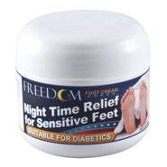 Skin Irritation - Freedom Night Time Foot Cream, 2 Oz.
