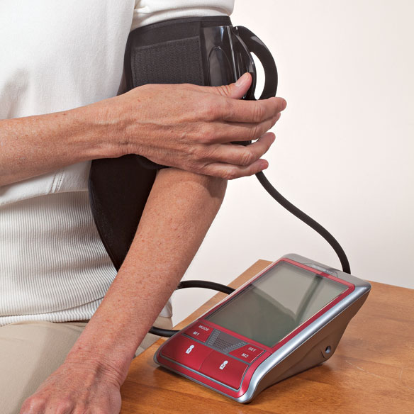 SmartHeart Premium Blood Pressure Monitor with Easy Clamp Cuff