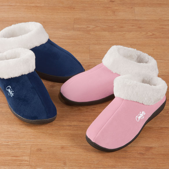 Easy Comforts Style™ Memory Foam Booties