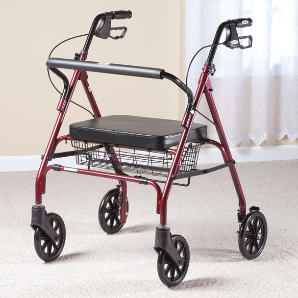 Go-Lite Bariatric Steel Rollator - View 1