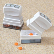 New - Pill Splitter/Storage, Set of 2