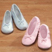 Comfort Footwear - Satin Ballet Slippers