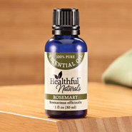 Pain Remedies - Healthful™ Naturals Rosemary Essential Oil, 30 ml