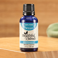 Respiratory Health - Healthful™ Naturals Peppermint Essential Oil, 30 ml