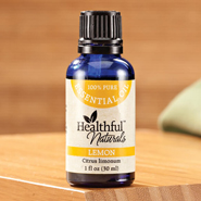 Healthful™ Naturals - Healthful™ Naturals Lemon Essential Oil, 30 ml