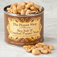 Sweets & Treats - Sea Salt & Cracked Pepper Nuts