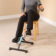 Healthy New Year - Folding Digital Pedal Exerciser