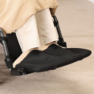 Cold Weather Safety - Wheelchair Foot Warmer