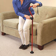 Walkers & Rollators - Standing Support Cane Handle