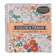 Brain Health - Color & Frame Country Coloring Book