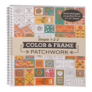 Memory Loss - Color & Frame Patchwork Coloring Book