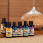Essential Oils - Healthful™ Naturals Starter Essential Oil Kit & 280 ml Diffuser