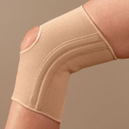 Antibacterial & Antimicrobial - Antibacterial Deluxe Nylon Knee Support