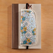 Hobbies & Books - 2-in-1 Bookmark and Glasses Case