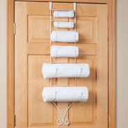Bathroom Accessories - Over the Door Towel Holder by OakRidge Accents™