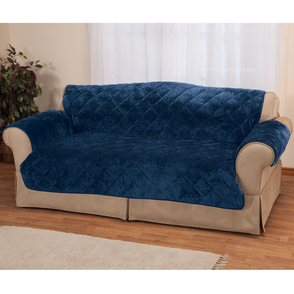 Fine Velvet Sofa Protector by OakRidge™