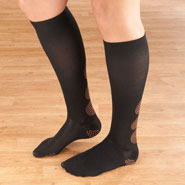 Hosiery - Magnetic Compression Socks 10–15 mmHg
