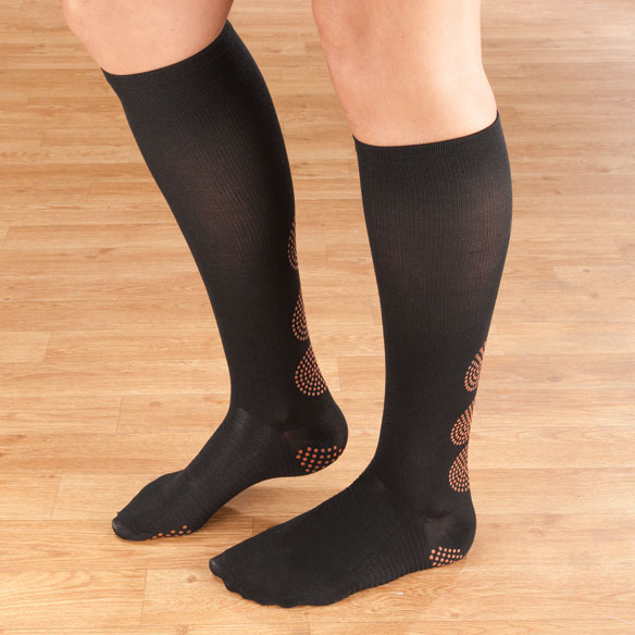 Magnetic Compression Socks 10–15 mmHg - View 1