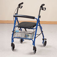 Walkers & Rollators - Aluminum Lite 4-Wheel Rollator