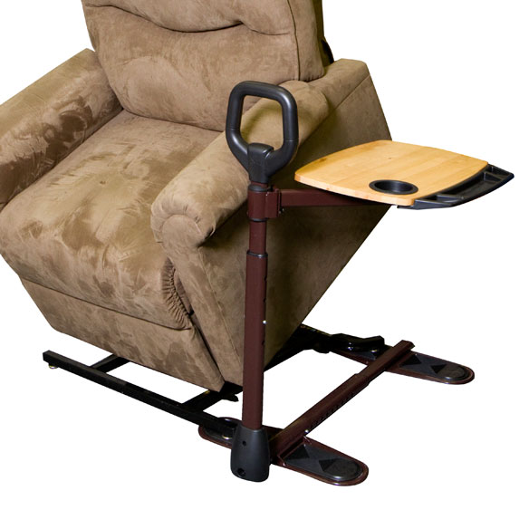 Swiveling Stand Assist Tray Table