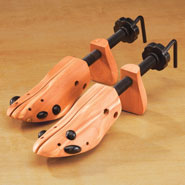 Footwear - Cedar Deluxe Shoe Stretcher, Set of 2