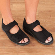 Comfort Footwear - Adjustable Memory Foam Slippers