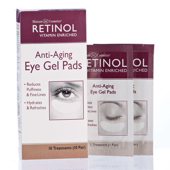 Skincare Cosmetics® Retinol Anti-Aging Eye Gel Pads 10 Pair