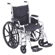 Wheelchairs & Accessories - Lightweight Transport Chair Wheelchair