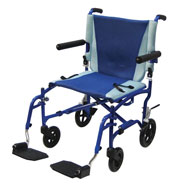 Wheelchairs & Accessories - Aluminum Transport Chair