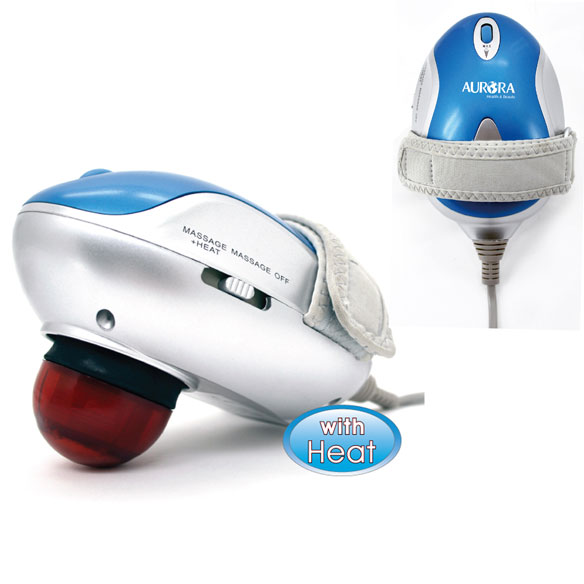 Aurora Palm Percussion Massager with Heat