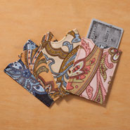 Apparel Accessories - Paisley RFID Sleeves - Set of 4