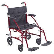 Wheelchairs & Accessories - Lightweight Transport Chair