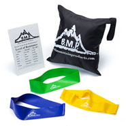 Exercise & Fitness - Resistance Loop Bands, Set of 3