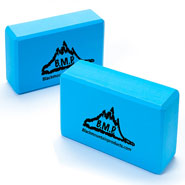 Exercise & Fitness - Yoga Blocks - Set of 2