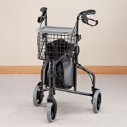 Walkers & Rollators - 3 Wheel Aluminum Rollator                    XL