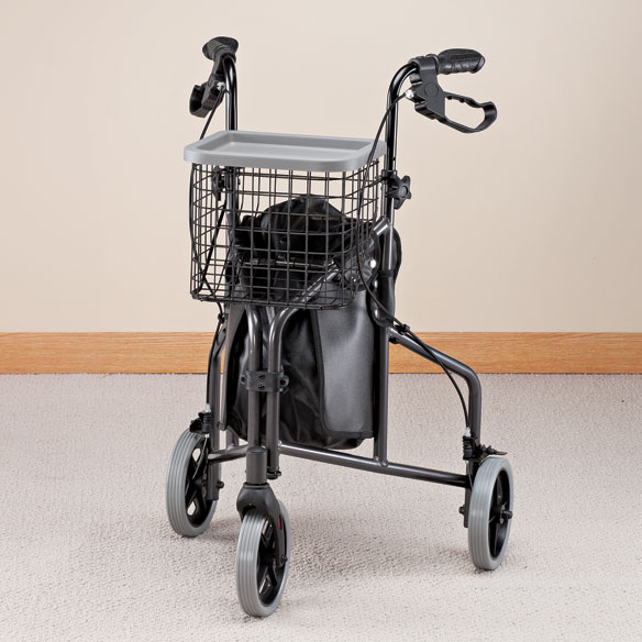 3 Wheel Aluminum Rollator - View 1