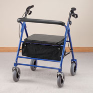 Walking Aids - Steel Bariatric Rollator