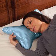 Sleep Better, Feel Better - Butterfly Pillow with Satin Cover