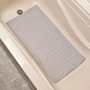 Bathroom Safety - Rubber Safety Mat with Microban