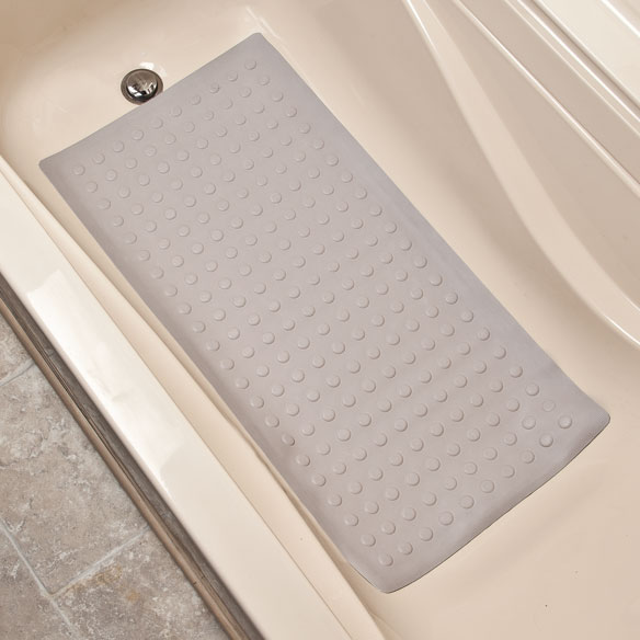 Rubber Bathroom Mats: Rubber Safety Mat With Microban